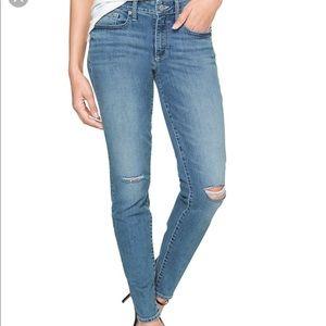 Gap Women Destructed Curvy Skinny Jeans Sz 4/27